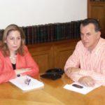 Συνάντηση του Α. Παχατουρίδη με την Μ. Ξενογιαννακοπούλου για το νέο Κέντρο Υγείας Περιστερίου
