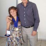 Ο Δήμαρχος Ανδρέας Παχατουρίδης τίμησε την  Περιστεριώτισσα αθλήτρια των Special Olympics