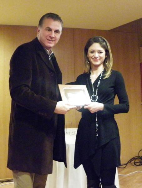 Ο Δήμαρχος Α. Παχατουρίδης τιμά τη Δρ. Γ. Σαλαντή