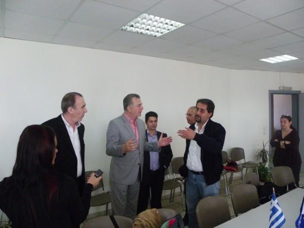 Ο Δήμαρχος Α. Παχατουρίδης με εκπροσώπους των γονέων της πόλης μας