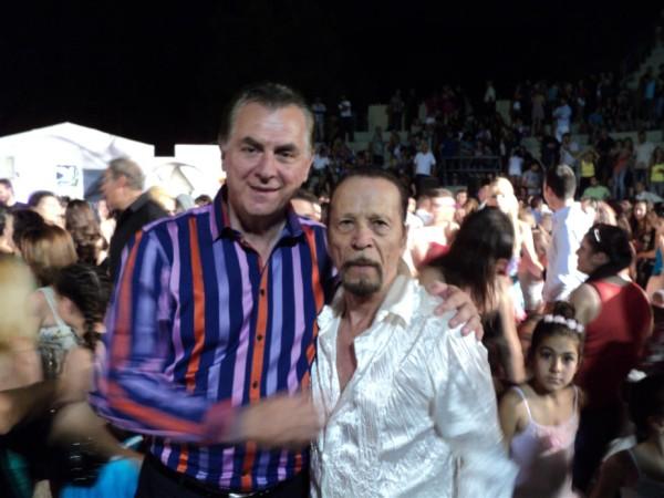 Ο Δήμαρχος Α. Παχατουρίδης με τον Φ. Μεταξόπουλο