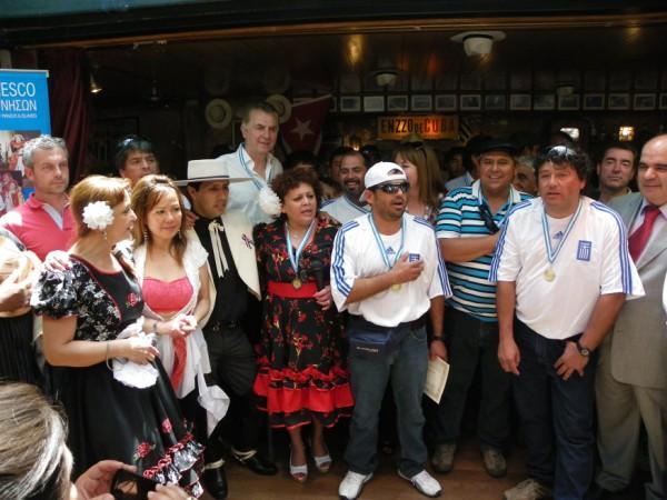 Με τους Χιλιανούς Μεταλλωρύχους