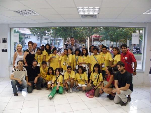 Mε την Εθνική Ομάδα Special Olympics της Βολιβίας