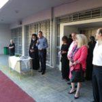 Ο Δήμαρχος Ανδρέας Παχατουρίδης κοντά στους μαθητές της πόλης του Περιστερίου
