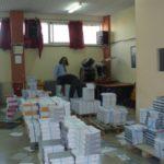 O Δήμος Περιστερίου διένειμε 27 τόνους σχολικών βιβλίων