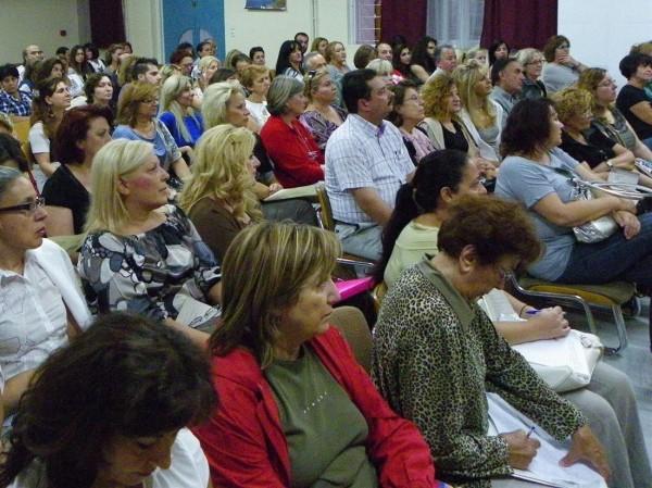 400 άτομα παρακολούθησαν τις 2 θεματικές ενότητες