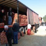90 τόνους πατάτες διέθεσε ο Δήμος Περιστερίου