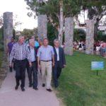 Ο Δήμαρχος ξενάγησε τον Περιφερειάρχη Γ. Σγουρό στο νέο Άλσος Περιστερίο