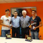 Ο Δήμος Περιστερίου και ο ΓΣΠ τίμησε  τους αθλητές Απ. Χρήστου και Δ. Σκουλίδα
