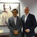 Συνάντηση του Δημάρχου Α.Παχατουρίδη με τον Δήμαρχο Λευκωσίας Κ. Γιωρκάτζη