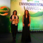 ΣΤΟΝ ΠΕΡΙΒΑΛΛΟΝΤΙΚΟ ΔΙΑΓΩΝΙΣΜΟ ENVIRONMENTAL AWARDS 2014