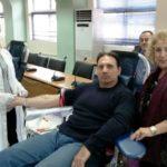 Ευχαριστίες του Δήμου Περιστερίου  προς τους εθελοντές αιμοδότες