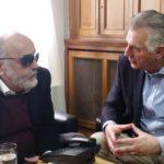 Συνάντηση εργασίας του Υπουργού Υγείας Π. Κουρουμπλή με τον Δήμαρχο Α. Παχατουρίδη
