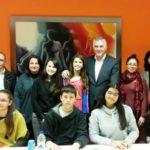 Μαθητές του 7ου Γυμνασίου πήραν συνέντευξη από τον Δήμαρχο