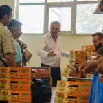 Δωρεάν διανομή ροδάκινων από το Δήμο Περιστερίου