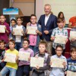 Βράβευση μαθητών του Δήμου Περιστερίου από την Ελληνική Μαθηματική Εταιρεία