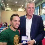 Ο Δήμος Περιστερίου τίμησε τον Παγκόσμιο Πρωταθλητή των Κρίκων Λευτέρη Πετρούνια