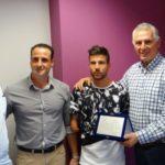Ο Δήμος Περιστερίου τίμησε τον Περιστεριώτη αθλητή ΑμεΑ, Πρωταθλητή Ευρώπης Χρήστο Κουτούλια