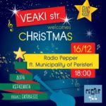 Veaki str Welcomes Christmas - Radio Pepper