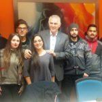 Διαδοχικές συναντήσεις του Δημάρχου Α. Παχατουρίδη με Περιστεριώτες φοιτητές