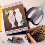 Έκθεση Χειροποίητης Ευχετήριας κάρτας της Ελένης Πολυματίδου