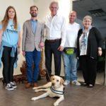 Το 1ο Κέντρο Εκπαίδευσης Σκύλων  Οδηγών Τυφλών στο Δήμο Περιστερίου