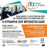 Ημέρες εργασίας και εργαστήρια ευαισθητοποίησης για νέους 15-24