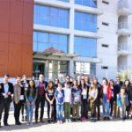 Επίσκεψη μαθητών και εκπαιδευτικών  ευρωπαϊκών χωρών στο Δημαρχείο Περιστερίου