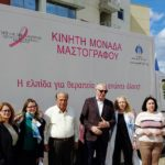 Δωρεάν μαστογραφίες στο Δήμο Περιστερίου