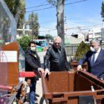 Παράδοση 4 απορριμματοφόρων και 500 καφέ κάδων για την συλλογή οργανικών αποβλήτων