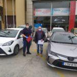Δύο Toyota Yaris παρέλαβε ο Δήμος Περιστερίου για το πρόγραμμα «Βοήθεια στο Σπίτι»