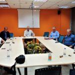 Σύσκεψη της Δημοτικής Αρχής Περιστερίου με το Δ.Σ. του Εμπορικού Συλλόγου