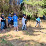 Μεγάλη συμμετοχή εθελοντών στον καθαρισμό του Ποικίλου Όρους